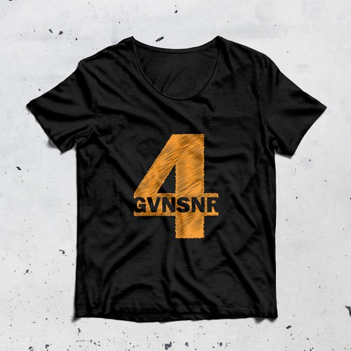 T-shirt design for 4gvnsnr