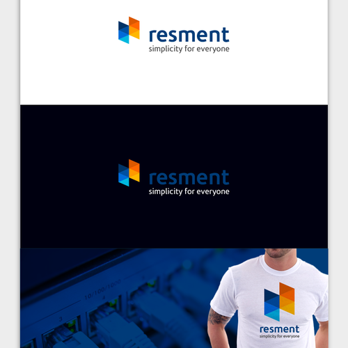 Create a professionell Company Logo for an innovative Resource Management Tool