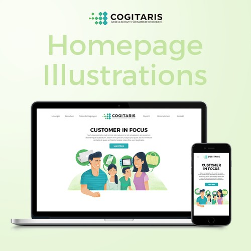 Website Illustration for Cogitaris