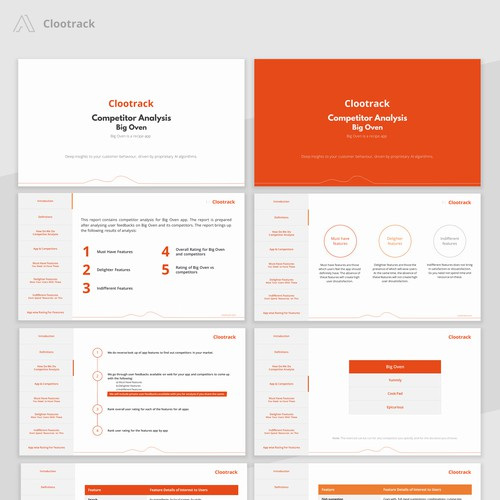 Presentation Template for Clootrack