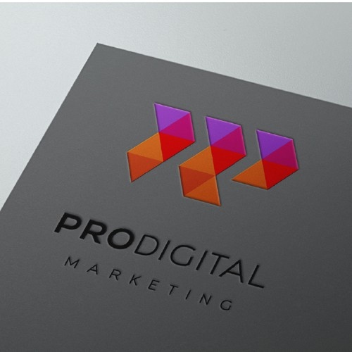 Logo for an online advertising agency