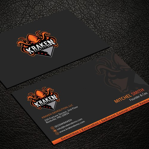 Creative & unique Business card