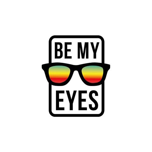 Be My Eyes logo concept