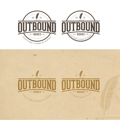Vintage logo for new boutique publishing company