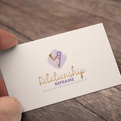 Logo concept for couple therapist