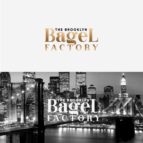 Logo for the Brooklyn Bagel Factory