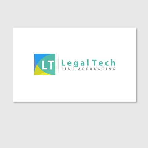 Help Legal Tech Time Accounting with a new logo and business card