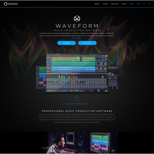 Waveform Product Page