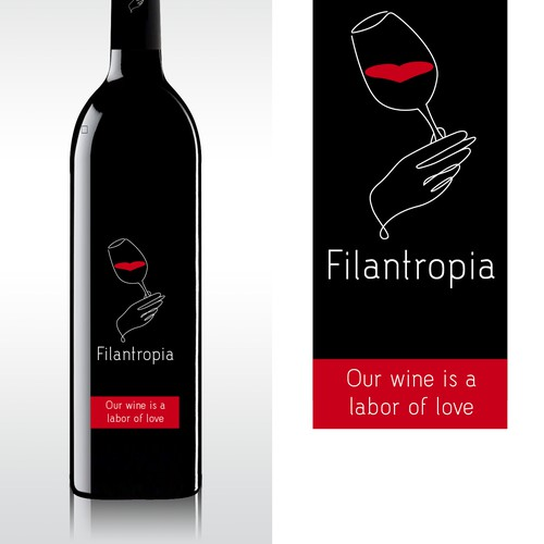 Wine Identity for Philanthropy Wine Co.
