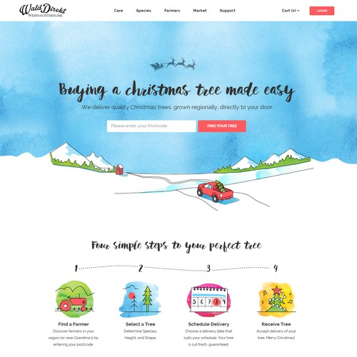 Startup Website Redesign