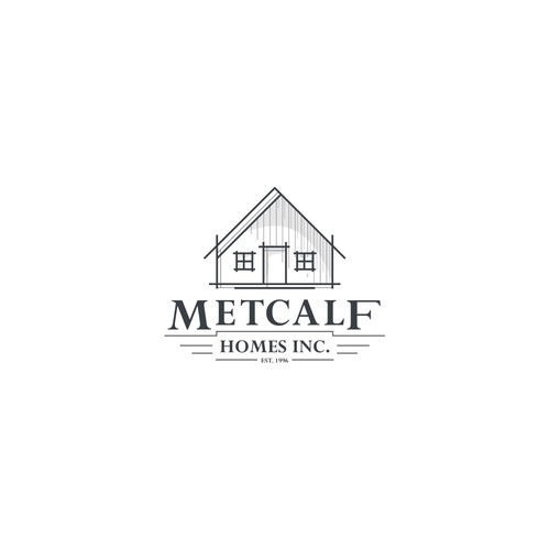 Logo Proposal to METCALF HOMES INC.