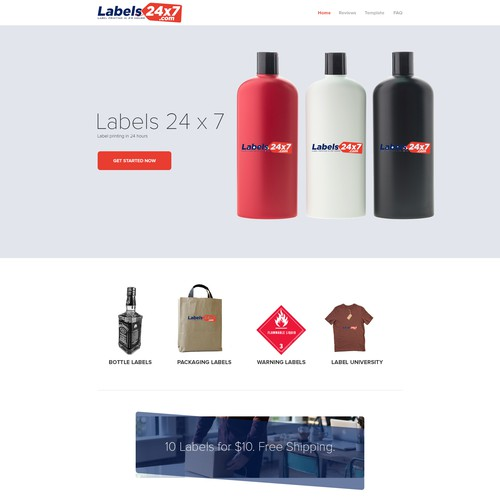Labels24x7.com Needs an awesome site.