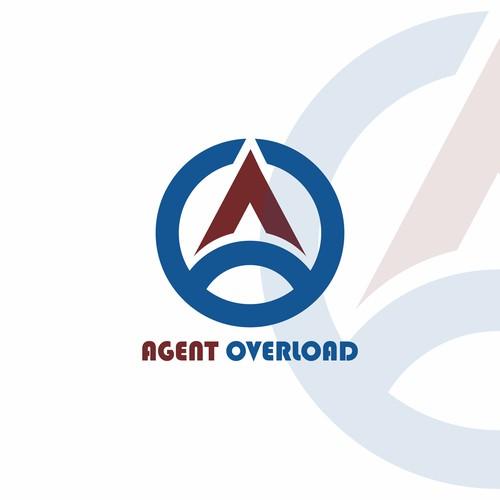 AGENT OVERLOAD logo design