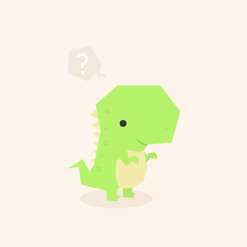 99designs      CONTESTSPROJECTSTASKSDESIGNERS      SUPPORT  draw a cute T-REX icon/mascot