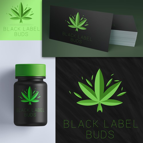 Logo for Black Label Buds (Marijuana Industry)
