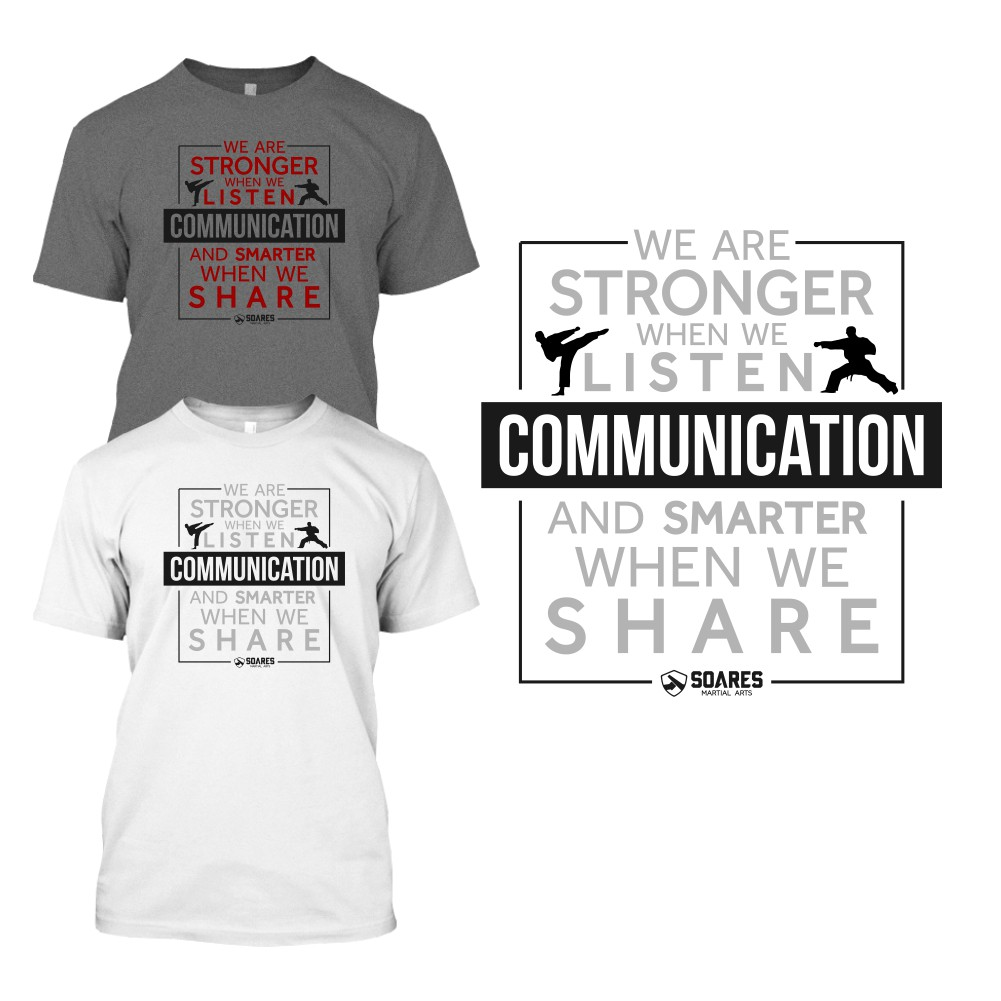 T-Shirt Design for a Karate School