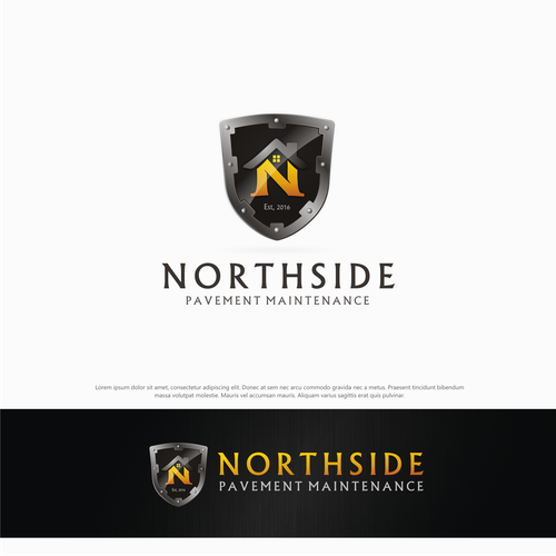 Create a strong logo representing protection and strength