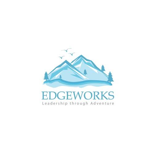 Landscape logo concept