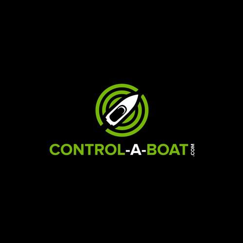 Control-a-Boat.com logo design