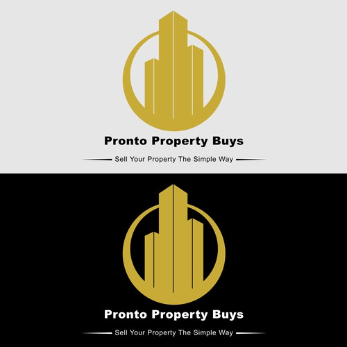 Logo concept for Pronto Property Buys