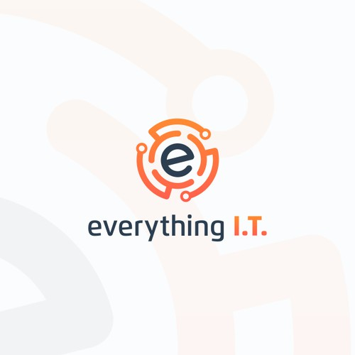 Logo for everything I. T