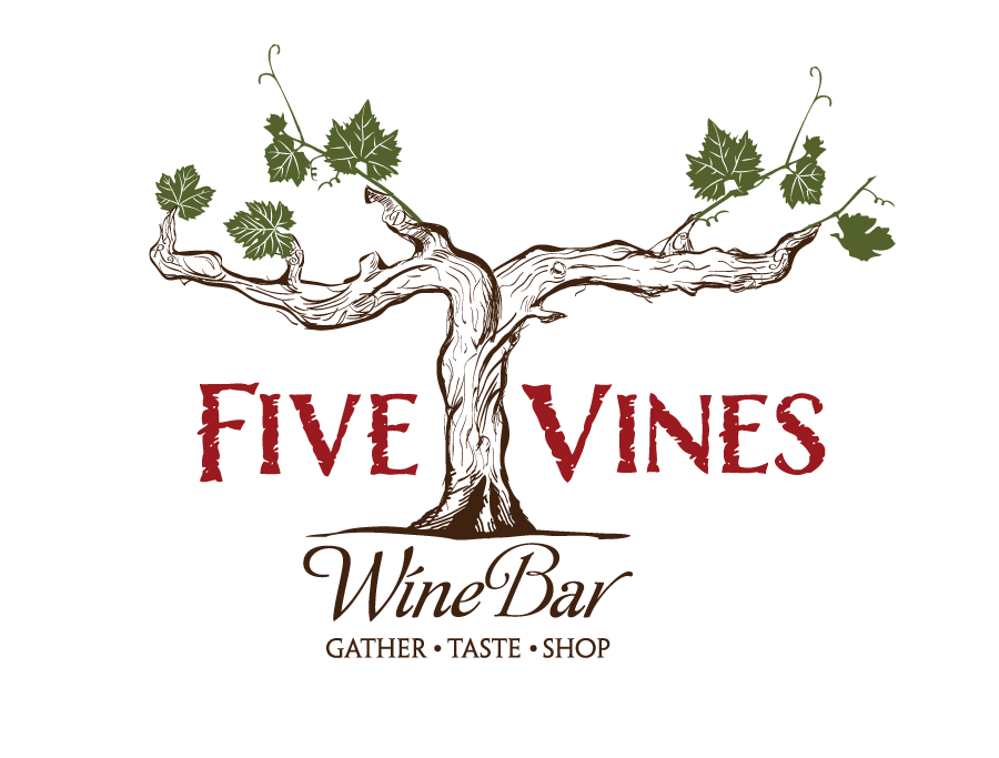 Five Vines Wine Bar  needs a new logo