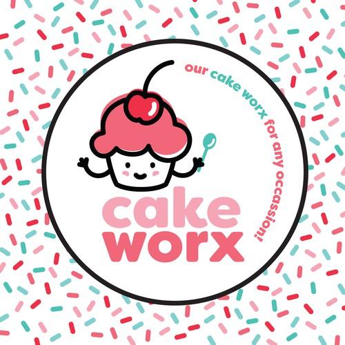 'CakeWorx' logo