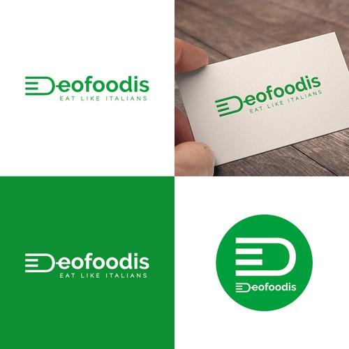 DeoFoodies Logo Design