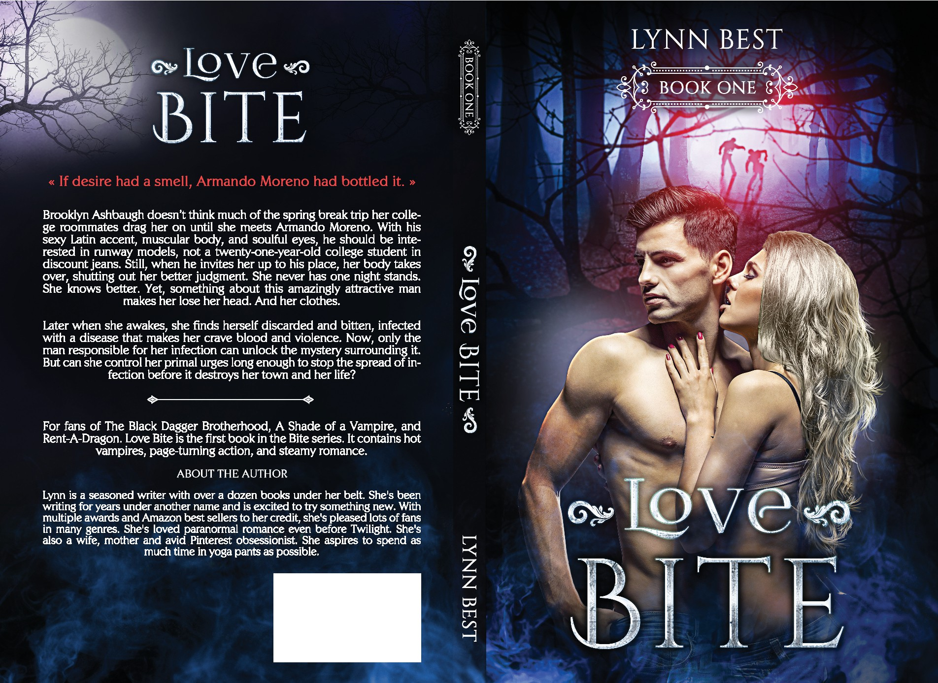 First of many: Steamy Paranormal Romance Vampire Book