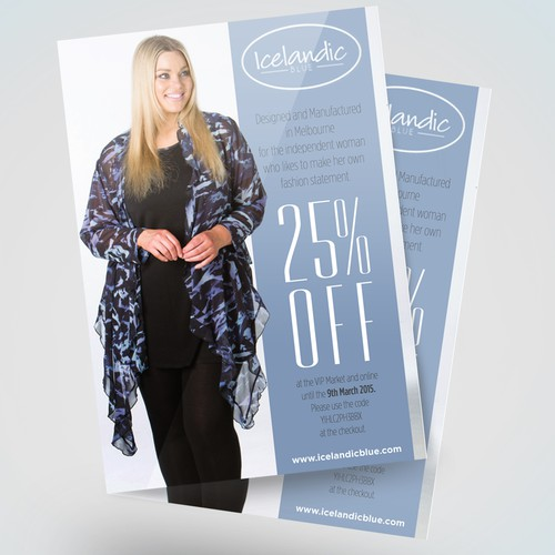 Flyer for Curvy Couture
