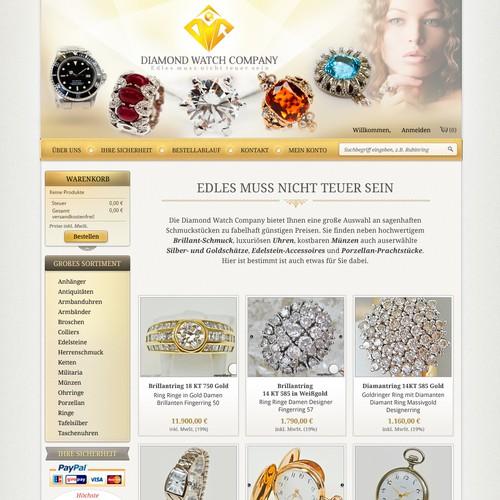 HOMEPAGE RELAUNCH Diamond Watch Company