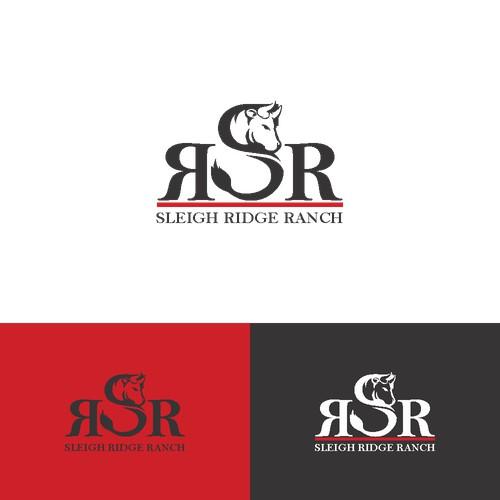 bold logo for bull ranch
