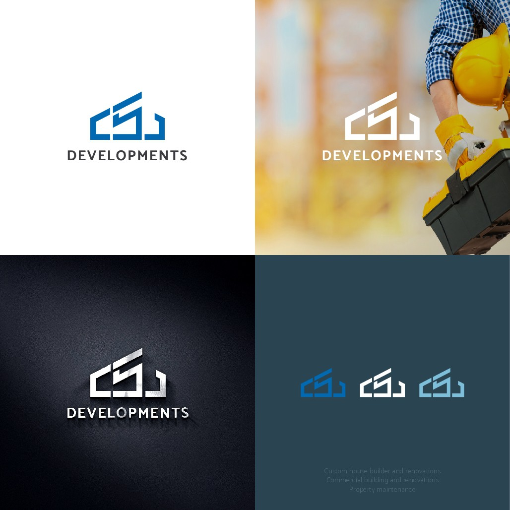 Design a cool, modern logo for a up and coming development company