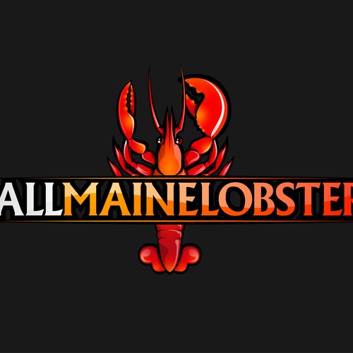Logo design for AllMaineLobster.com