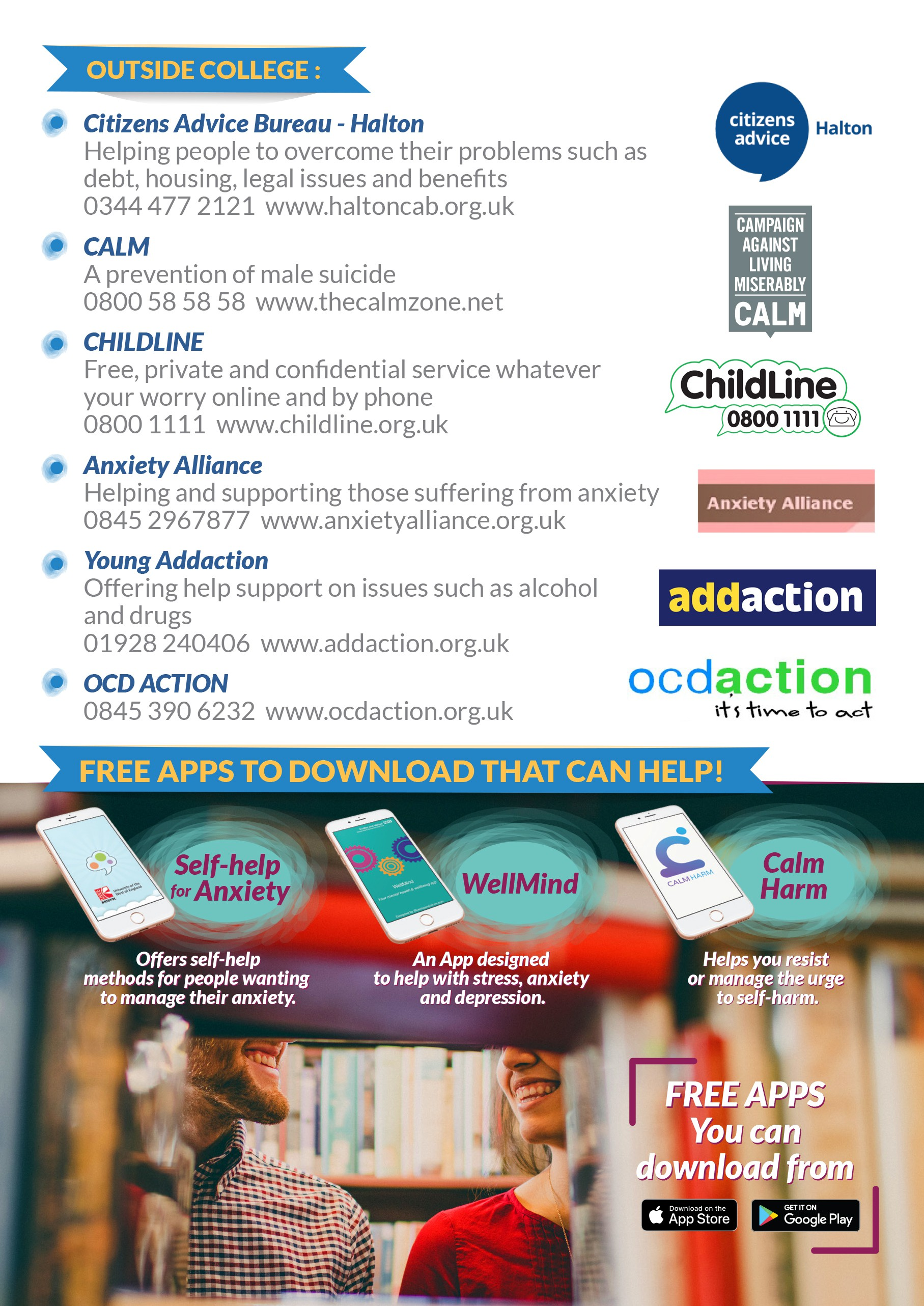 A5 Helpline Flyer- Work