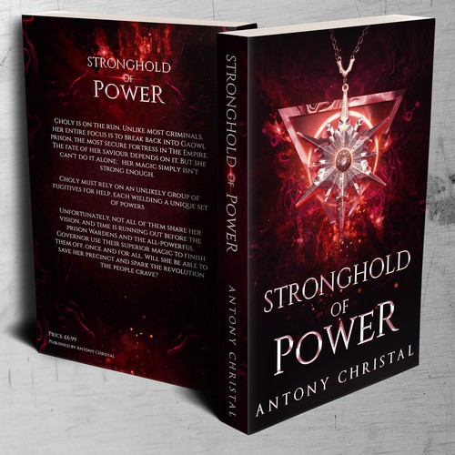 Stronghold of Power - Book Cover Design