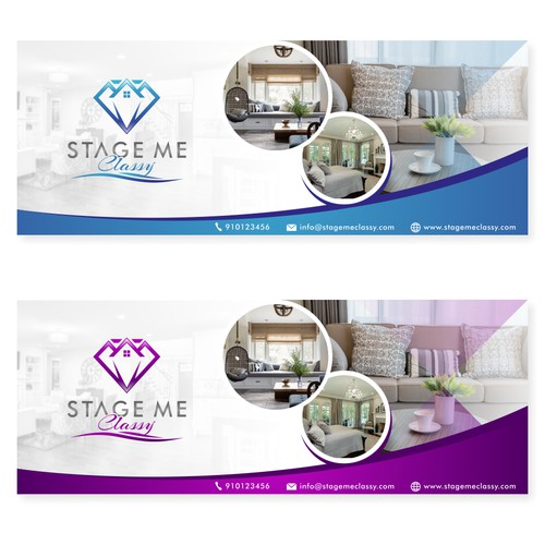 elegant design for home interior facebook cover