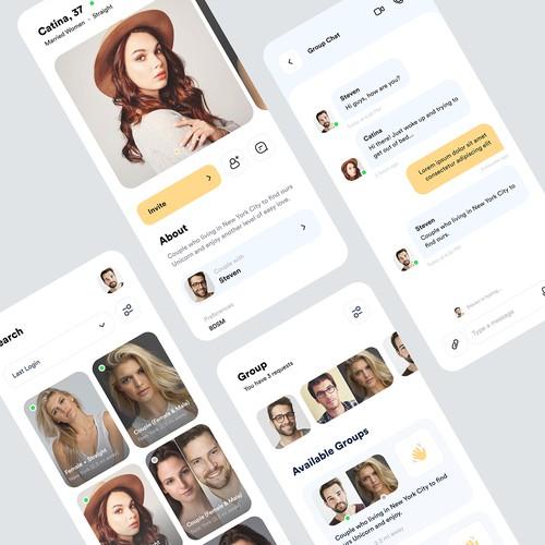 Date app concept
