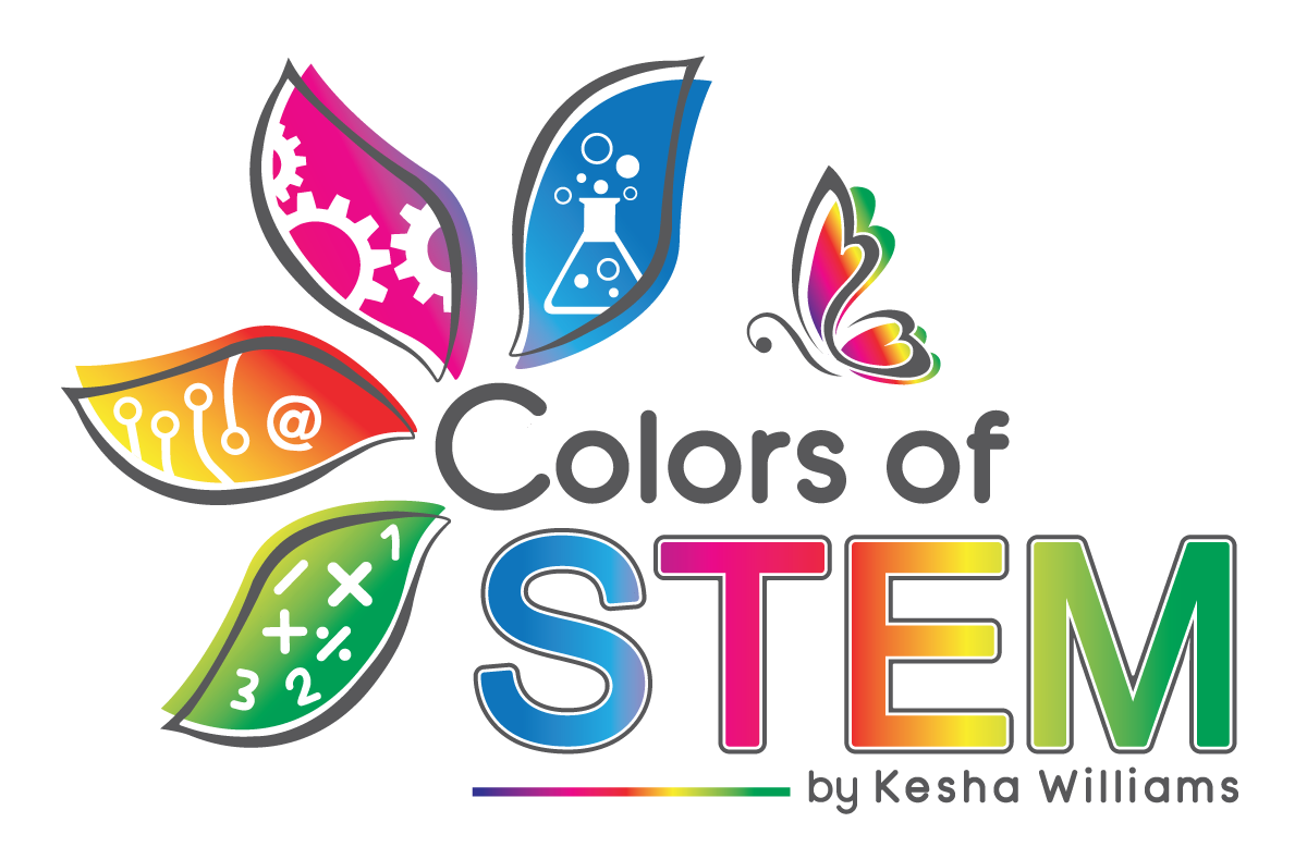 Design a fun logo to get girls and young women interested in STEM careers