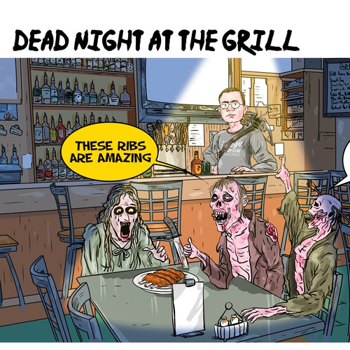 Dead Night at the grill _from 1 to 1 project