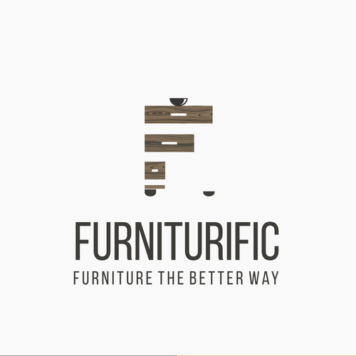 Clever logo for furniture company