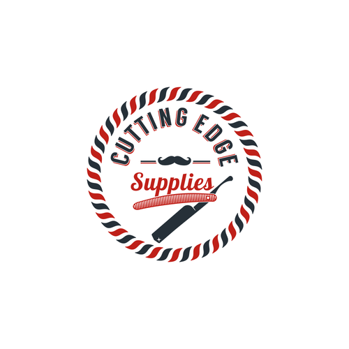 Logo for barber shops supply