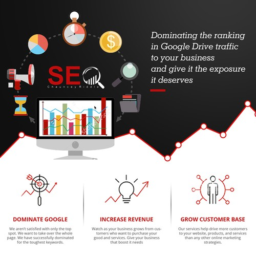 Simple and elegant flyer design for SEO