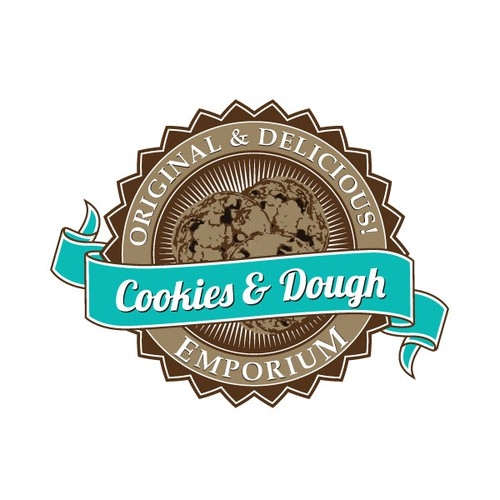 Retro Label for Cookies and Dough