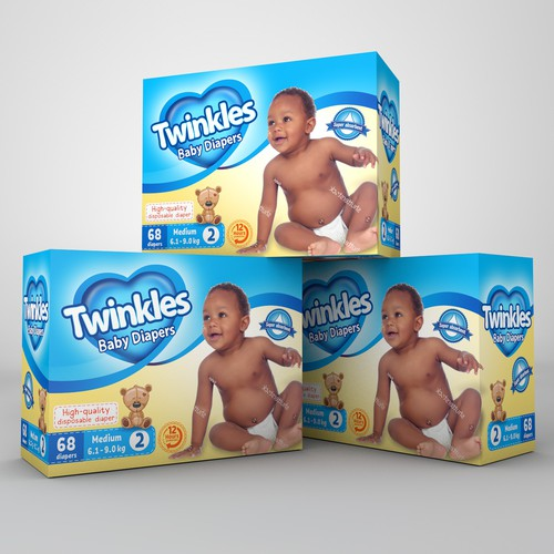 Luxury package design for Twinkles