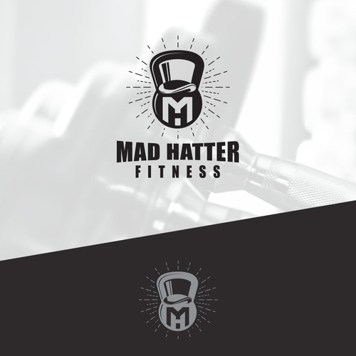 Logo proposal for Mad Hatter Fitness