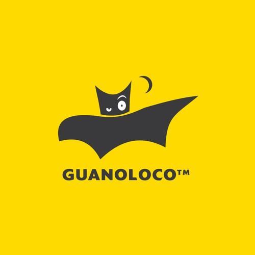 Bold, smart and astonishing bat logo