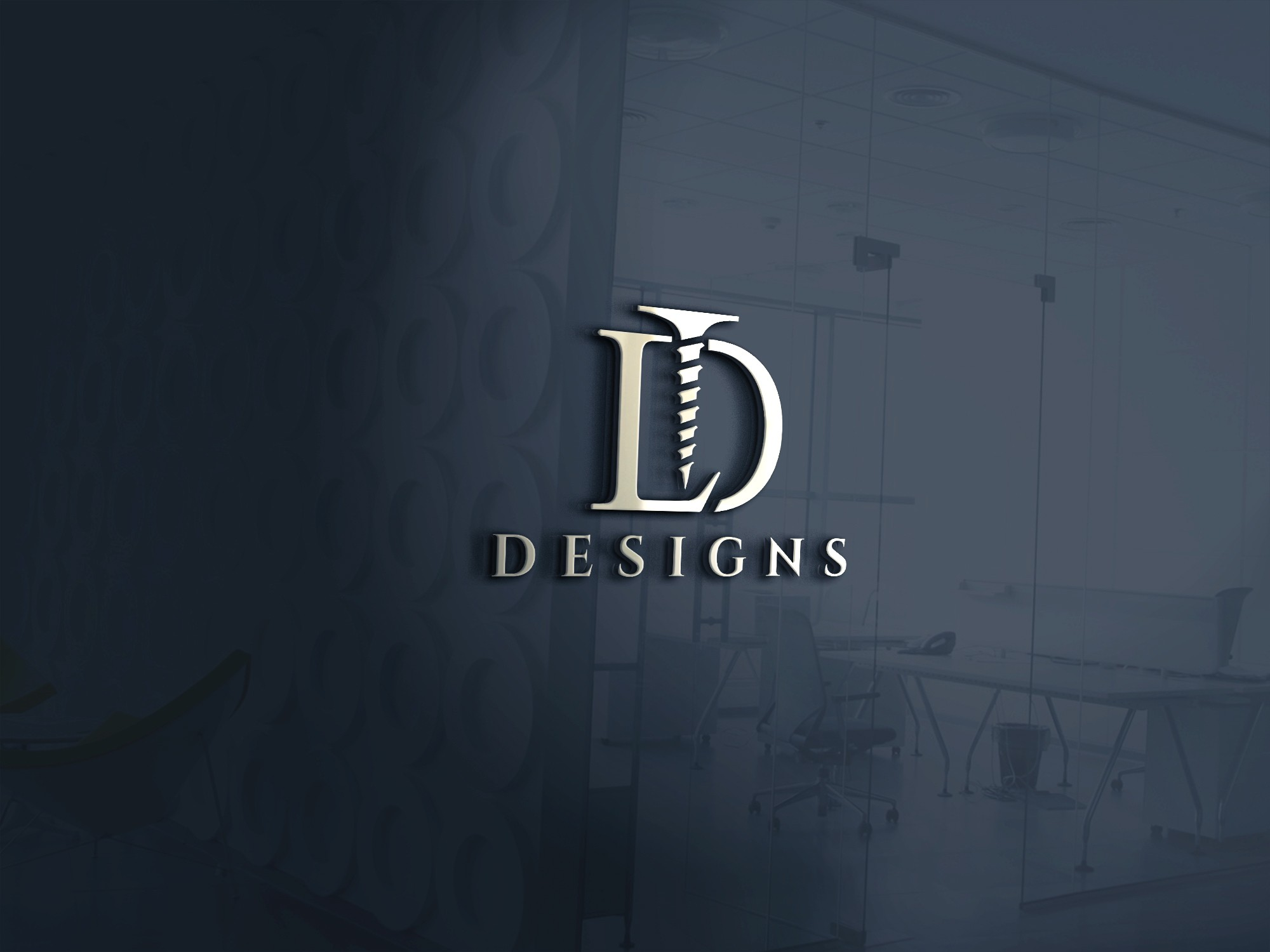 Logo design for a new finished steel and wood furniture fabrication company