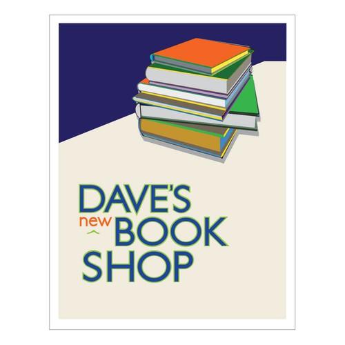 Bright book store logo design