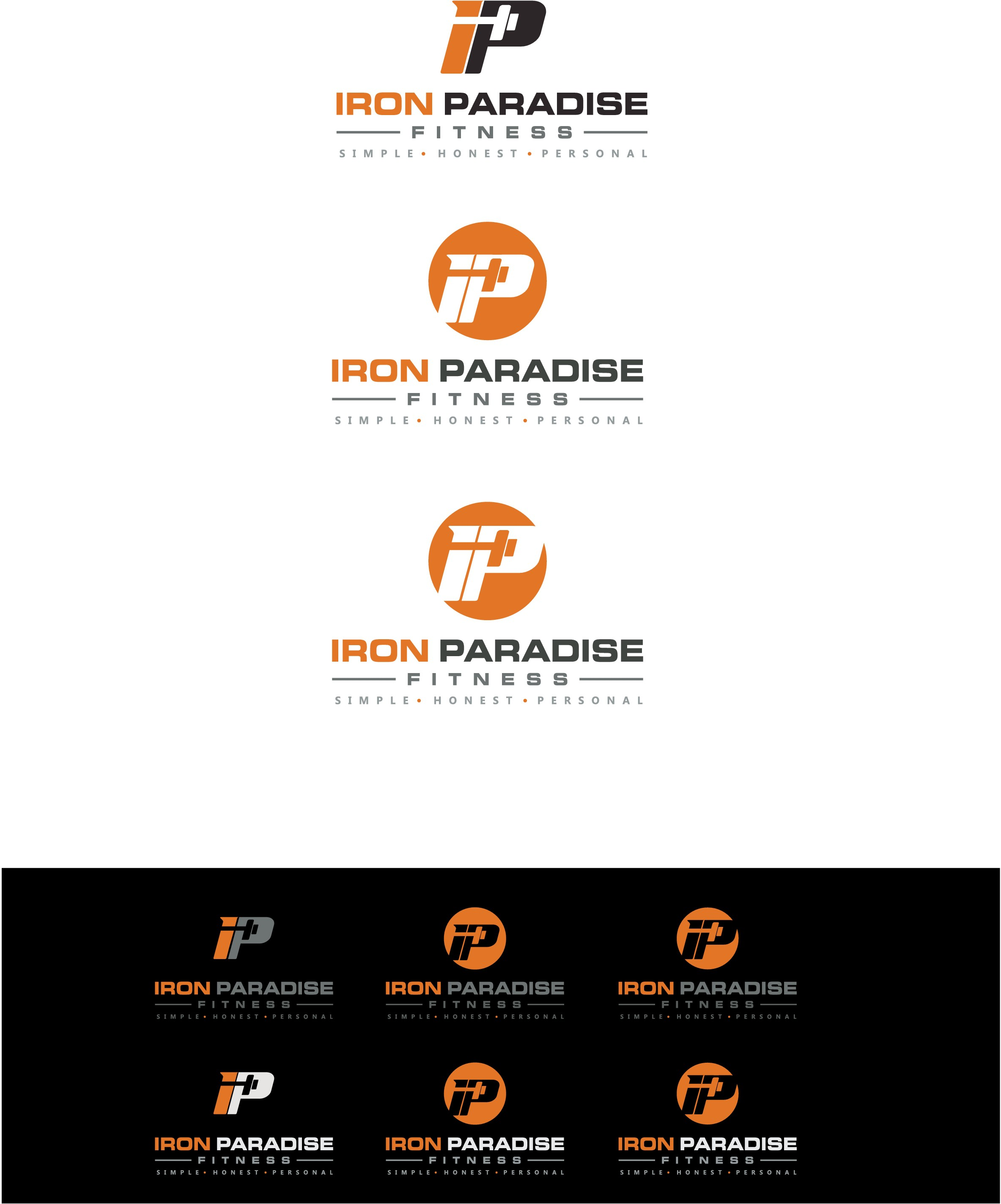 Create a show stopping logo for Iron Paradise Fitness!